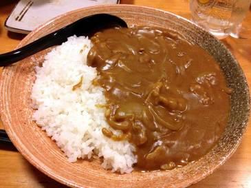 蕎麦屋のカレーライス