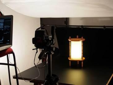 行灯の撮影